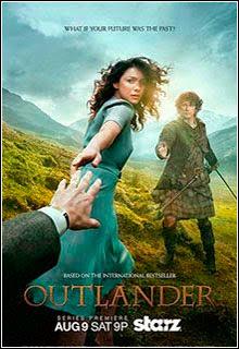 Outlander 1ª Temporada HDTV 720p + Legenda Capa