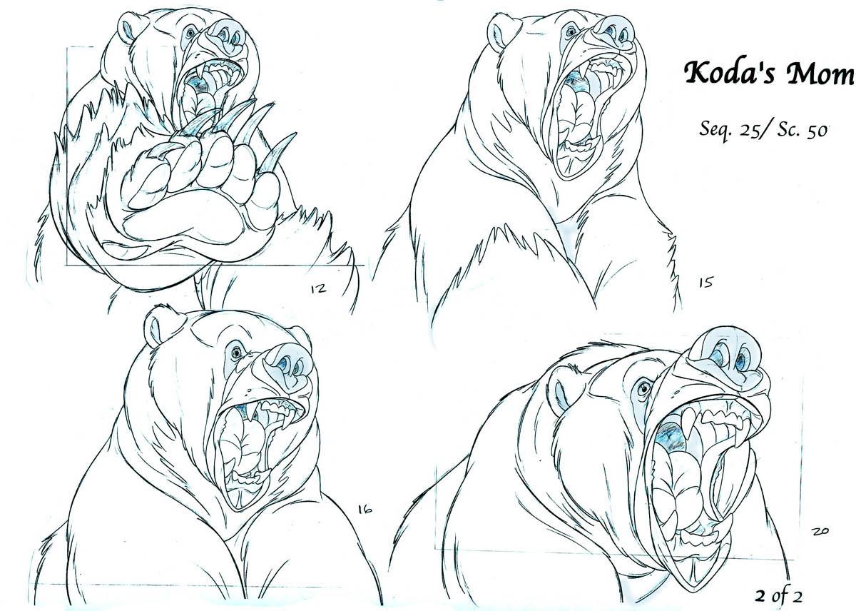 rutt and tuke concept art brother bear