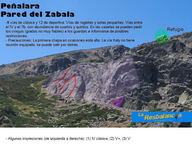 20120816 - PEÑALARA - PARED DE ZABALA Sector%2520comentado