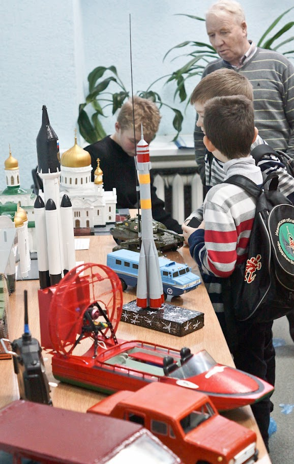 В Иванове прошел конкурс юных конструкторов-моделистов