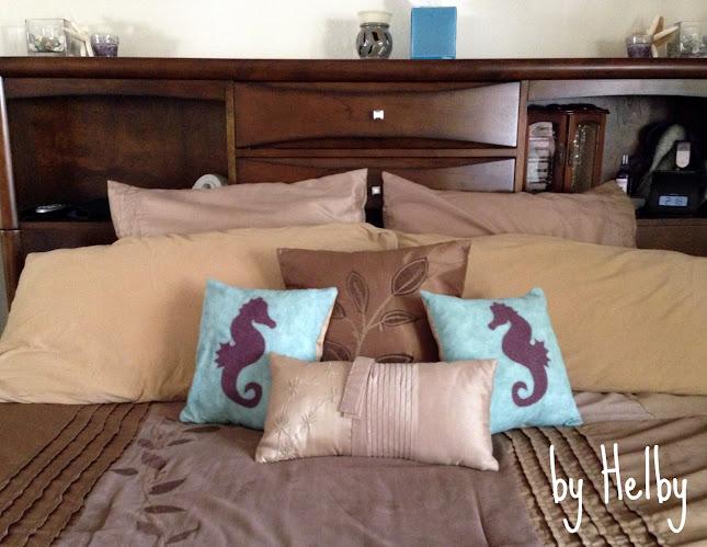 Seahorse pillows