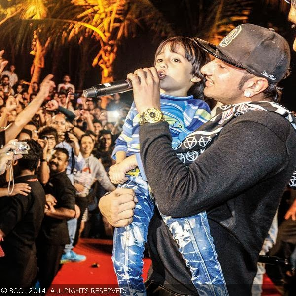 Honey Singh Son Honeysingh dancing with kids