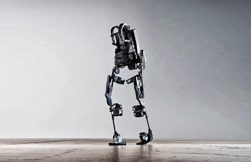 #可穿戴的機器人:ekso bionic suit 讓無法自由行動者再次感受到走路的樂趣! 2