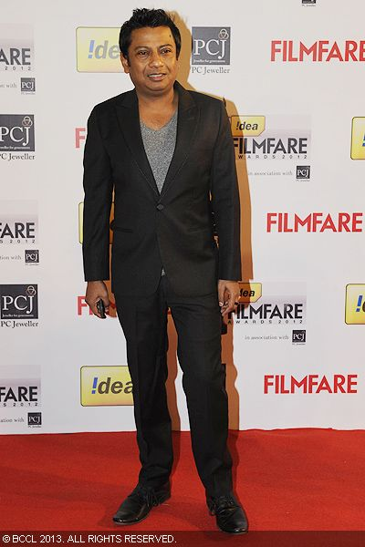 Director Onir poses for the cameras during the 58th Idea Filmfare Awards 2013, held at Yash Raj Films Studios in Mumbai.Click here for:<br />  58th Idea Filmfare Awards