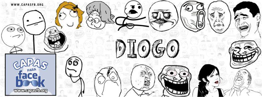 Capas para Facebook Diogo
