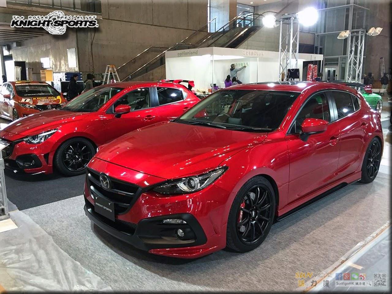 2015 Tokyo Auto Salon Knightsports Knightsports X Mazda Modified