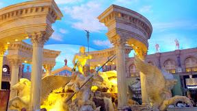Inside Caesar's Palace, Las Vegas