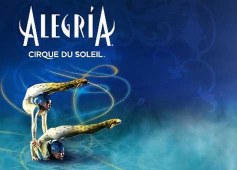 Cirque du soleil, alegría