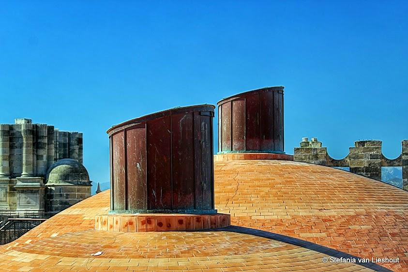 Koepels kathedraal Malaga