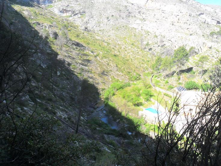 zona de Escalada Barranc dels Tarongers Sector Granainos 2 1