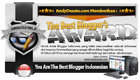 The Best Blogger Award