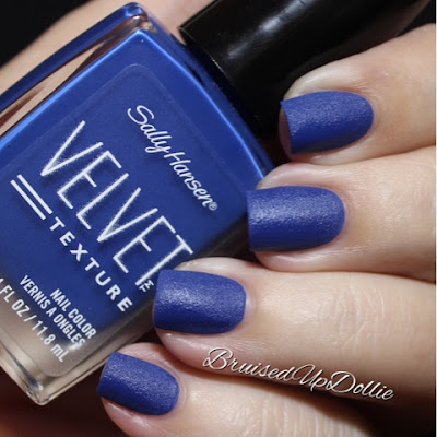 Sally Hansen Velvet Texture Regal Swatch