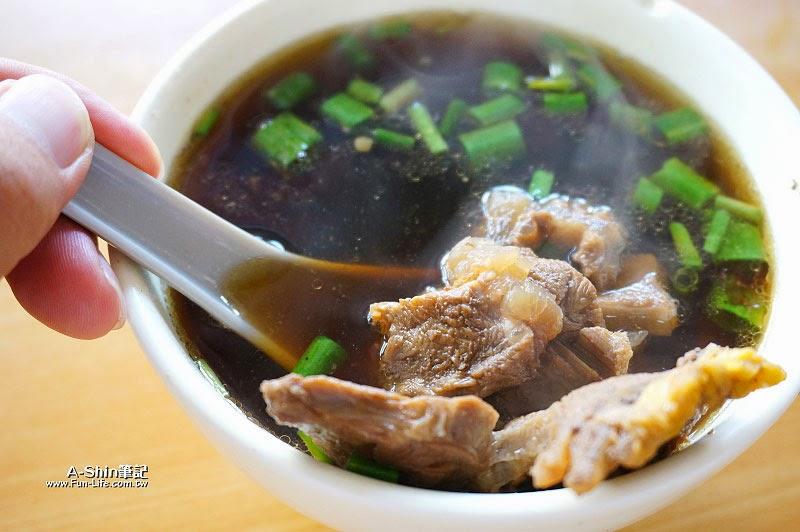南投水里美食,水里牛肉麵大王-9