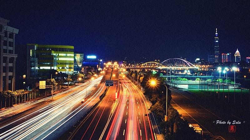 台北 民權大橋 101 夜景 攝