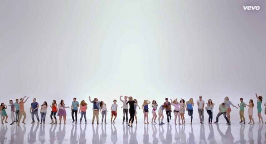 Taylor Swift Shake It Off VEVO Music Video random people