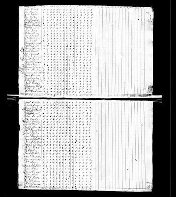 Census Beaver 1820 John Mc Fall
