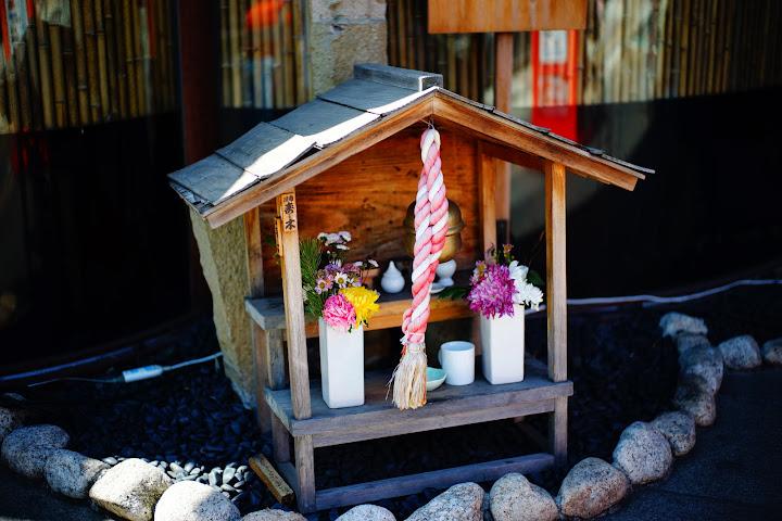 street shinto temple asakusa