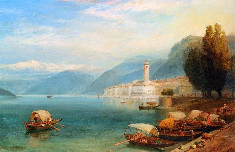 Myles Birket Foster - Lake Como