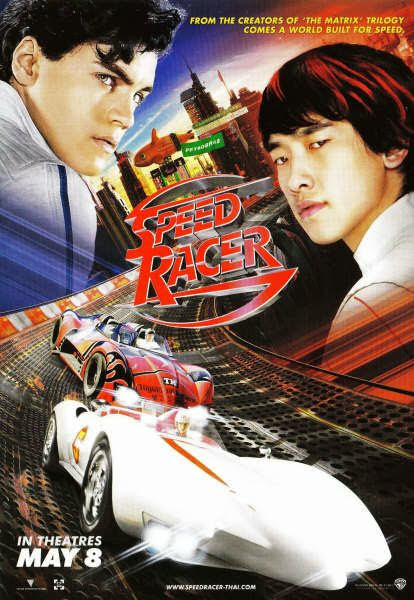 Poster Of Speed Racer (2008) Full Movie Hindi Dubbed Free Download Watch Online At alldownloads4u.com
