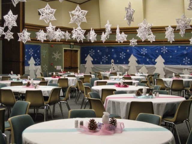 Lds Ward Christmas Party Ideas Part - 40: Us Setting Up For Our Ward Christmas Party!we Had To Take Pictures Before  Everyone Came :)