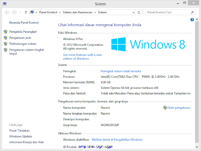Windows 8 Genuine