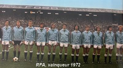 1972 Belgium West Germany 1 2 0 1 Germany S