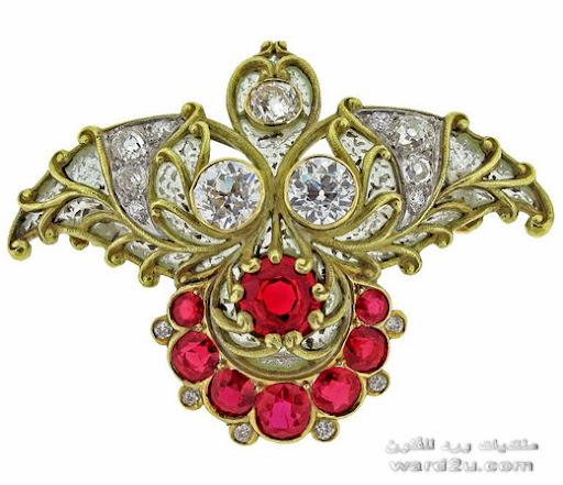 مجوهرات تصميمات روعه ذهب وبلاتين