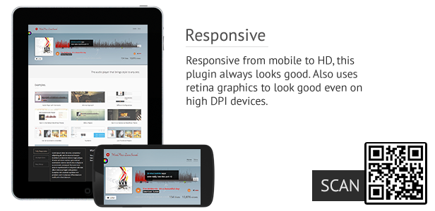 ZoomSounds - WordPress Wave Audio Player with Playlist - 3