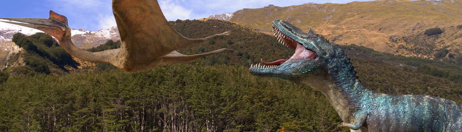 Baner filmu 'Wędrówki Z Dinozaurami'