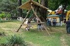 Trampoline, swing (11:00-18:00)