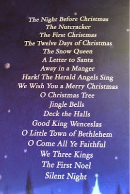 A Treasury of Christmas Stories and Songs - Index