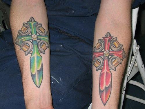 Galeria Tatuazy Tatuaze Krzyze