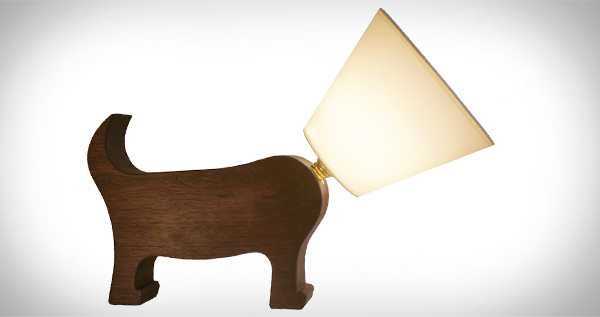 Dog Lamp by Matt Pugh