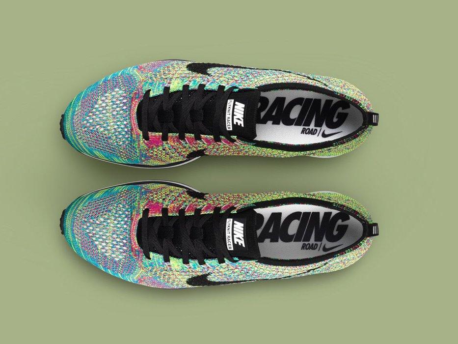 *Nike Flyknit Racer 限量Multi-Color 高科技慢跑系列:歐洲搶先上市! 1