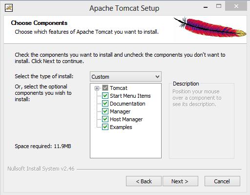 cara konfigurasi apache tomcat manual