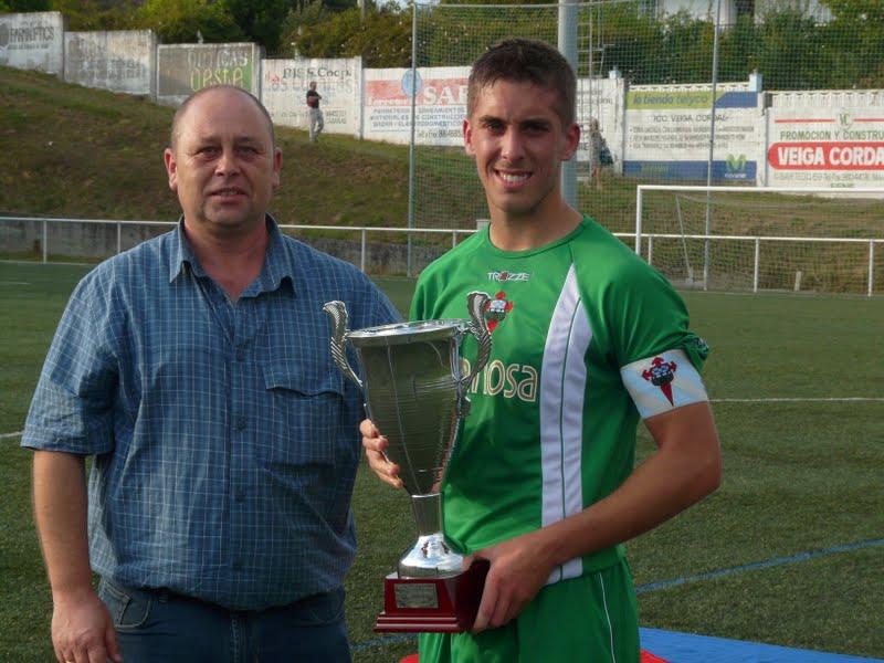 XXV Trofeo Concello de Ares. Racing, 4 - Celta B, 1. Celta B Campeón.