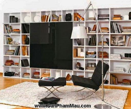 Các mẫu thiết kế nội thất phòng đọc sách P1-1