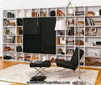 Các mẫu thiết kế nội thất phòng đọc sách P1