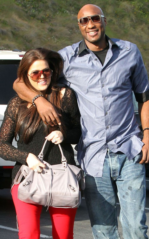 Coupled Up: Khloe Kardashian And Lamar Odom!