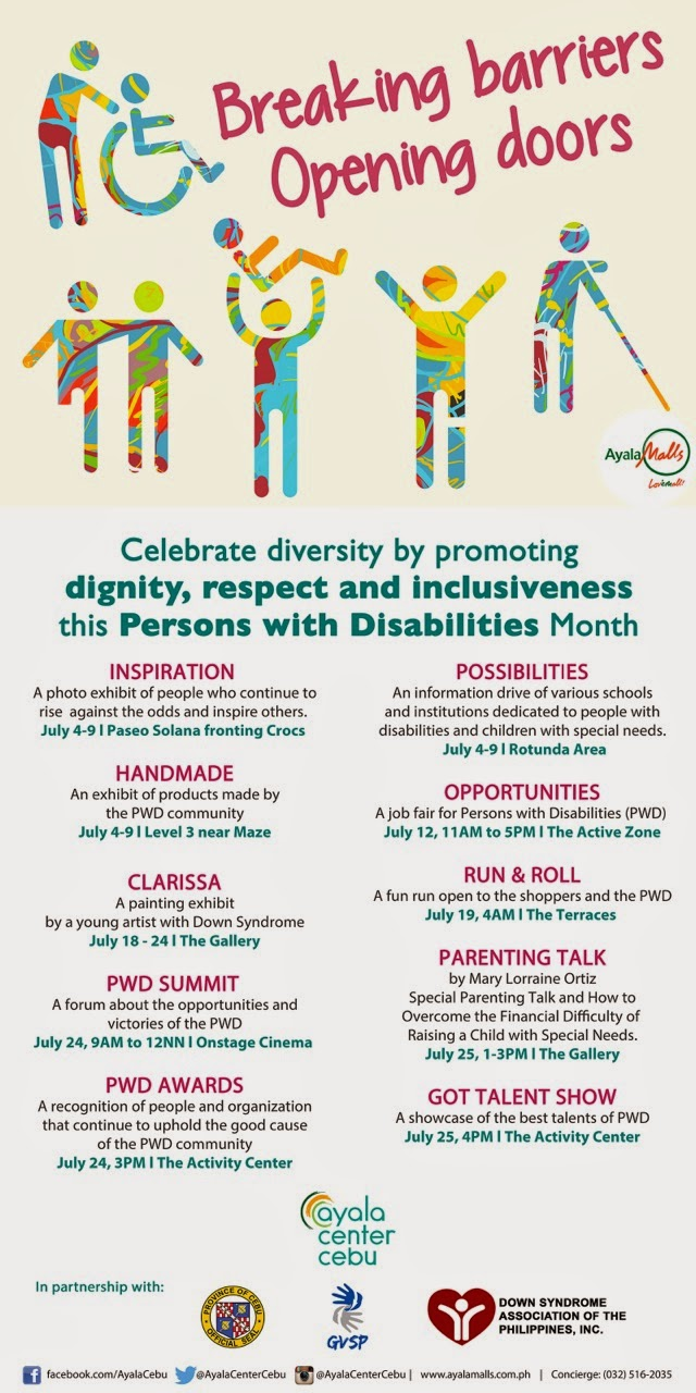 Celebrating PWDs Awareness Month poster
