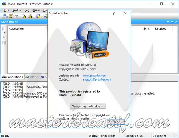 proxifier registration code