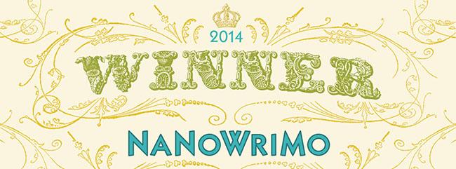 Ganadora NaNoWriMo 2014