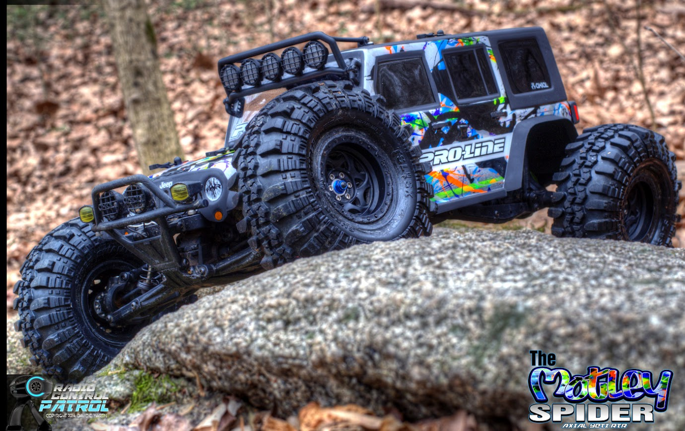 Here is video of the proline jeep wrangler unlimited body on the yeti rtr running pretty hard