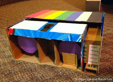 color to sound converter project