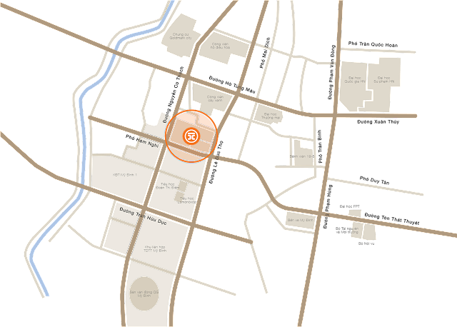 Vị trí dự án Mon City