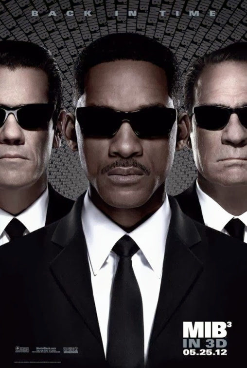 Poster Of Men in Black 3 (2012) Full Movie Hindi Dubbed Free Download Watch Online At Alldownloads4u.Com