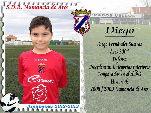 ADR Numancia de Ares. Diego.