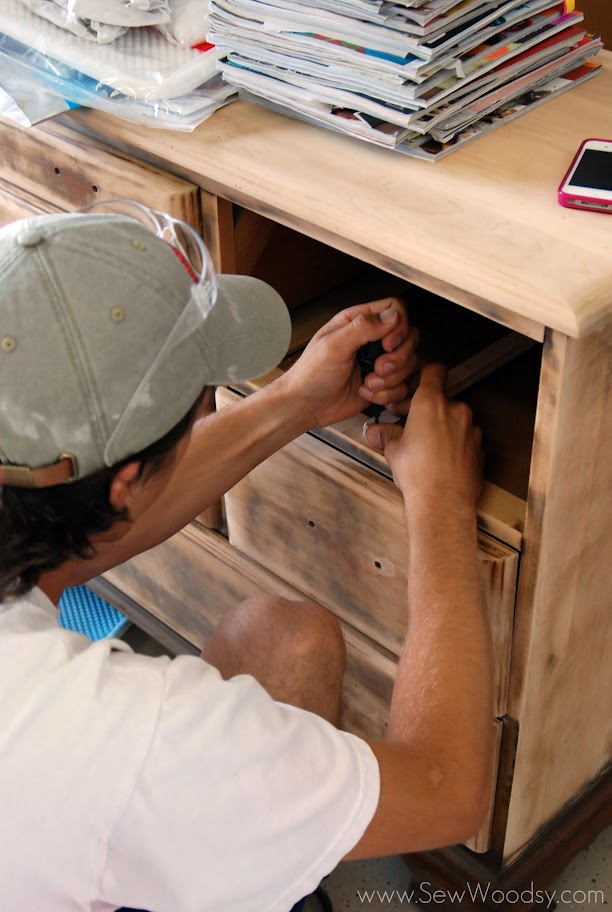 Modifying Classic Wood Center Mount Drawer Slides Sew Woodsy