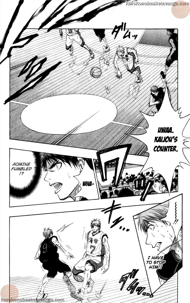 Kuroko no Basket Manga Chapter 70 - Image 12
