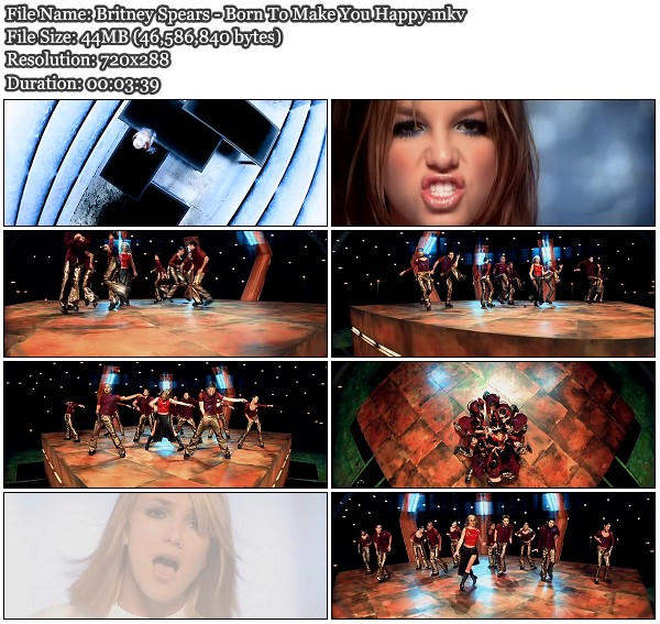 Britney Spears Born To Make You Happy HD Official Music Video Download